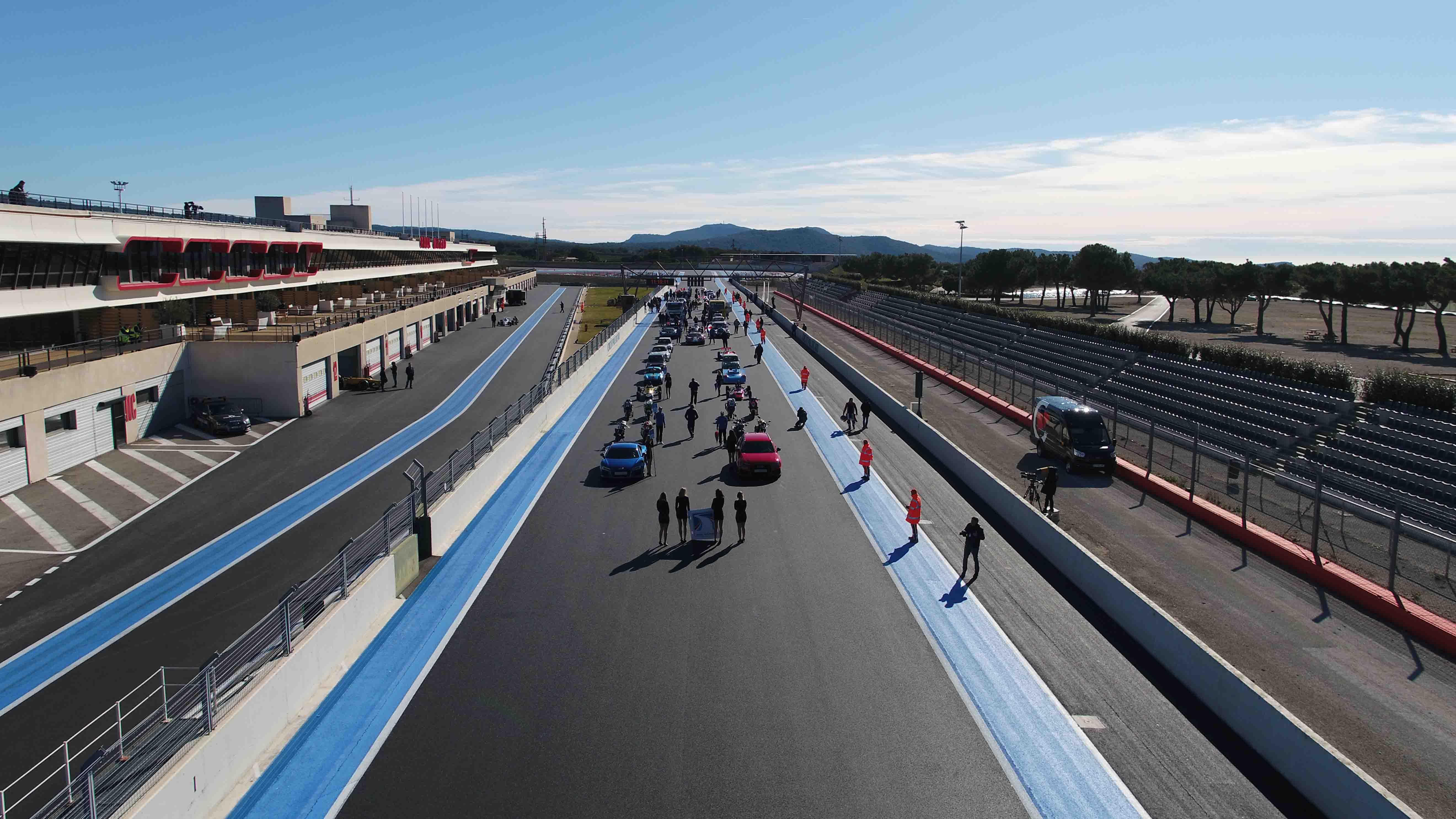 Vidéo départ circuit du Castellet